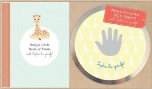 Sophie the Giraffe - Handprint Kit and Journal